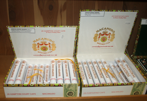 Macanudo Portofino and Hampton Court